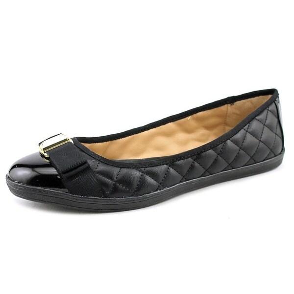 Alfani Arrgent   Round Toe Synthetic  Flats