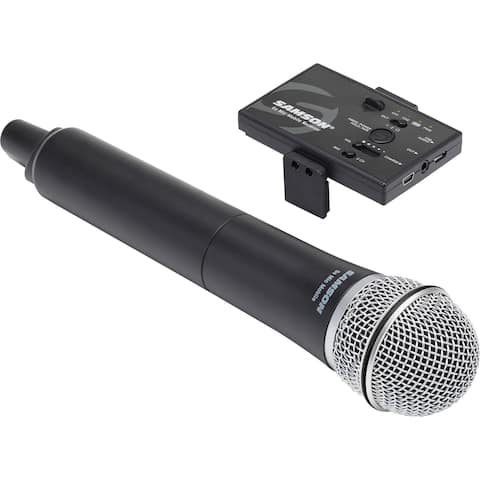Samson Go Mic Mobile Digital Wireless System with Q8 Dynamic Handheld Mic/Transmitter