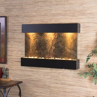Adagio Reflection Creek Fountain with Blackened Copper Finish - Multiple Colors Available