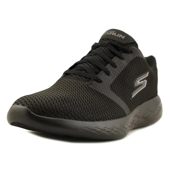 Skechers Go Run 600 - Refine Men Black Running Shoes