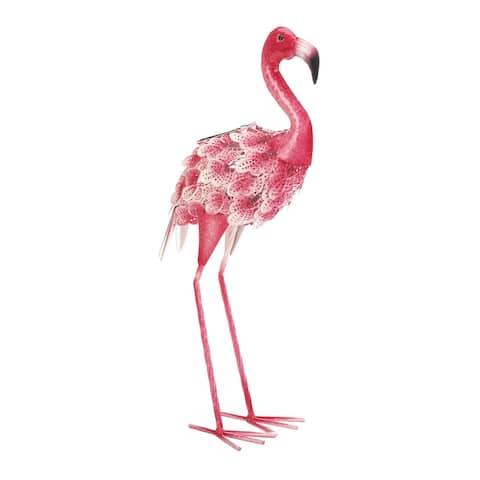 Pink Flamingo with Solar Light