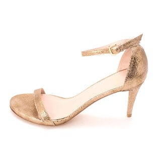Stuart Weitzman Womens Naked Open Toe Casual Ankle Strap Sandals