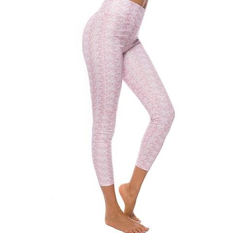 Womens Leggings Soft Stretchy Ankle Length Yoga Pants