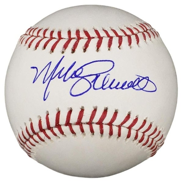 5029a940038 Shop Mike Schmidt Phillies Signed MLB Baseball w  Free Ball Cube Fanatics -  Free Shipping Today - Overstock.com - 22335630