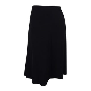 JM Collection Women's Elastic Waist Jersey A-Line Skirt - pxl