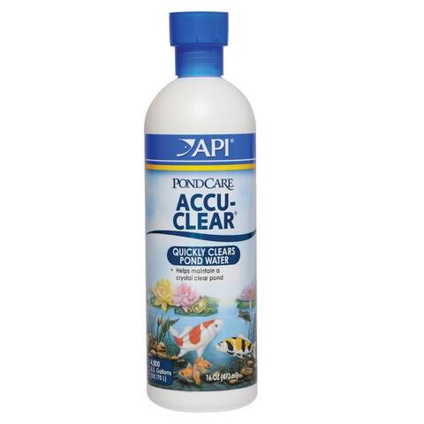 API 142B PondCare Accu-Clear Water Clarifier, Treats 4,800 Gallon, 16 Oz
