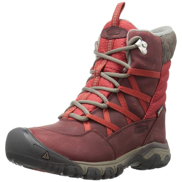 30552cab383a Shop KEEN Women s Hoodoo III Lace up-w Snow Boot - 5 - Free Shipping Today  - Overstock - 23448255