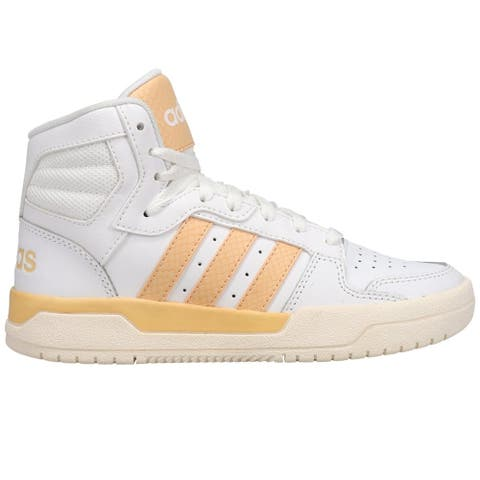 adidas Entrap Mid High Womens Sneakers Shoes Casual - White