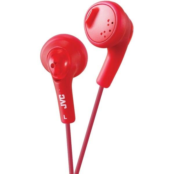 Jvc Haf160R Gumy(R) Earbuds (Red)