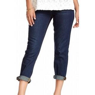 Fire Los Angeles NEW Blue Women's Size 24X26 Capri Cropped Jeans DEAL