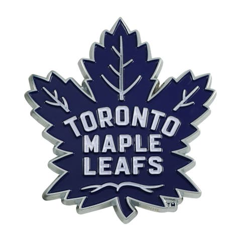 "3"" Blue and White NHL Toronto Maple Leafs 3D Emblem - N/A"