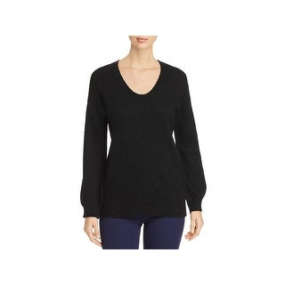 MICHAEL Michael Kors Womens Sweater Wool Long Sleeves