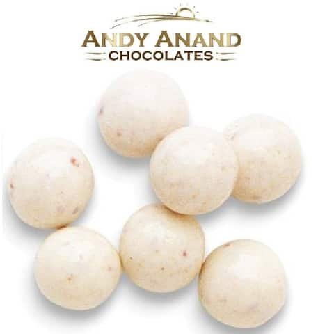 Andy Anand Belgian Chocolate Cheesecake Caramel Malt Ball Gift Boxed