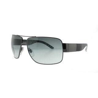 BURBERRY Aviator BE 3040 Men's 105711 Gunmetal/Black Gray Gradient Sunglasses - 61mm-13mm-130mm