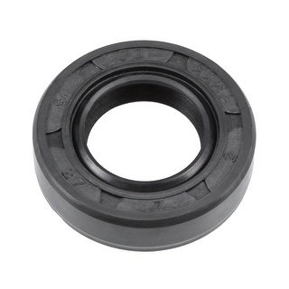 Oil Seal, TC 15mm x 27mm x 7mm, Nitrile Rubber Cover Double Lip - 15mmx27mmx7mm