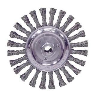 """Weiler Brush 6"""" Wire Wheel 36024 Unit: EACH"""