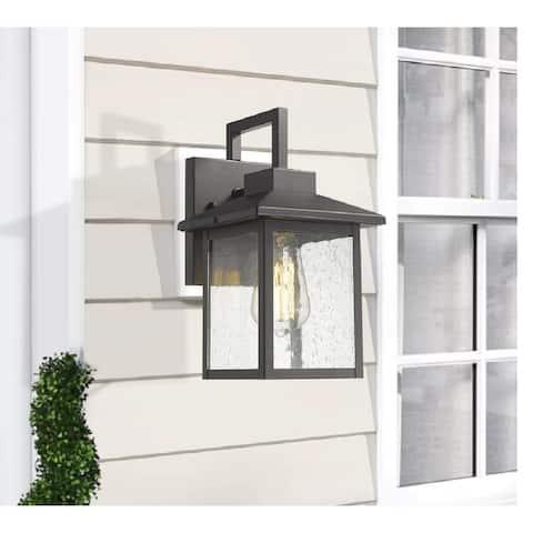 Kwan Outdoor Armed 1-light Indoor/ Outdoor Wall Sconce
