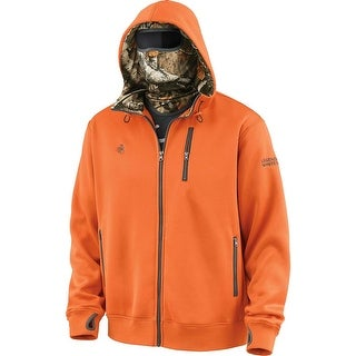 Legendary Whitetails Men's Big Game Camo Double Time Performance Hoodie