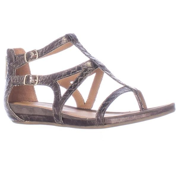 Kenneth Cole Lost Time Dress Gladiator Sandals, Pewter - 5 us / 35 eu