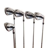 New Cobra Fly-Z XL Irons 7i-PW,GW R-Flex AMP Cell-S Graphite RH
