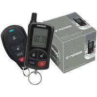 LCD 2-Way Security & Remote-Start System with .25-Mile Range & 2