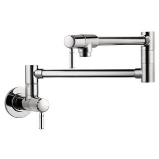 Hansgrohe 4218 Talis C Wall Mounted Double-Jointed Pot Filler - Includes Lifetime Warranty