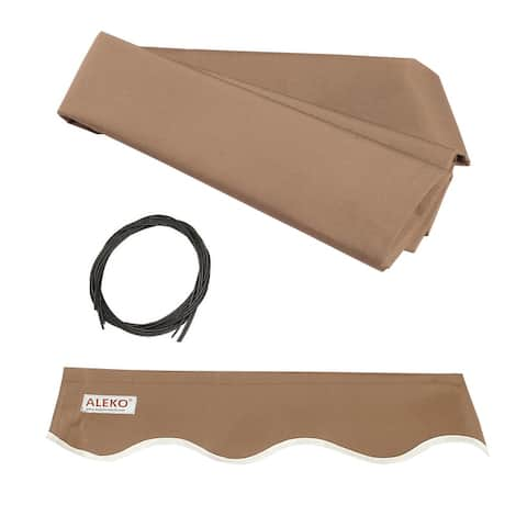 ALEKO Fabric Replacement for 20 x 10 Feet Retractable Awning