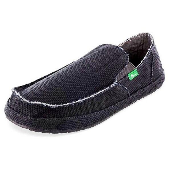 Sanuk Casual Shoes Mens Rounder No Ledge Canvas Slip On