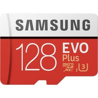 Samsung MicroSDXC EVO Plus Memory Card - 128GB Memory Card|https://ak1.ostkcdn.com/images/products/is/images/direct/25c39139702a4f77d9c79f79c14c56cadcde7cba/Samsung-MicroSDXC-EVO-Plus-Memory-Card---128GB-Memory-Card.jpg?impolicy=medium