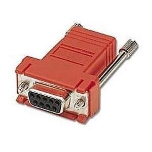 C2g - Rj45 To Db9 Female Modular Adapter - Gray