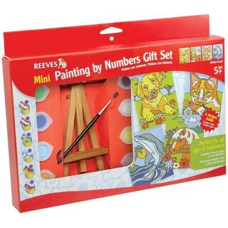 Reeves - Mini Painting by Numbers Gift Set