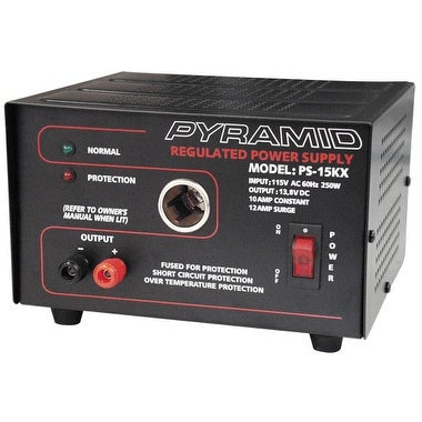 10 Amp Power Supply w/Cigarette Lighter Plug