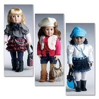 One Size Only - 18 (46Cm) Doll Clothes And Accessories