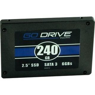 "VisionTek 900624 Visiontek GoDrive 240 GB 2.5"" Internal Solid State Drive - SATA - 550 MB/s Maximum Read Transfer Rate -"