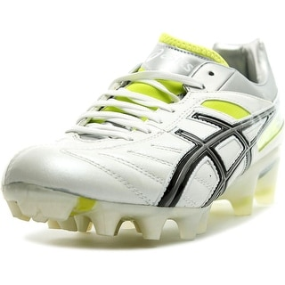 Asics Lethal Tigreor 4 IT Soccer Cleats Men  Round Toe Synthetic White Cleats