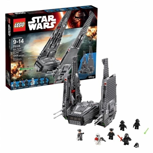 Shop Legor Star Warstm Kylo Rens Command Shuttle 75104 Free
