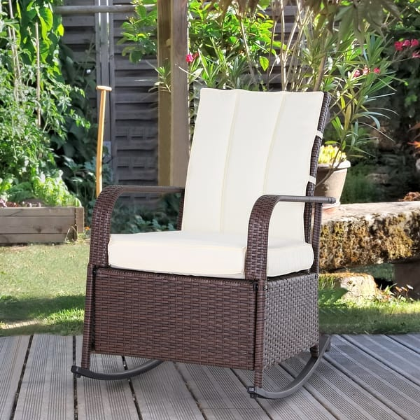 Outsunny Outdoor Wicker Rattan