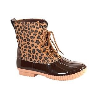 Women's Avanti Rosetta Duck Boots - WaterProof Rain Boots