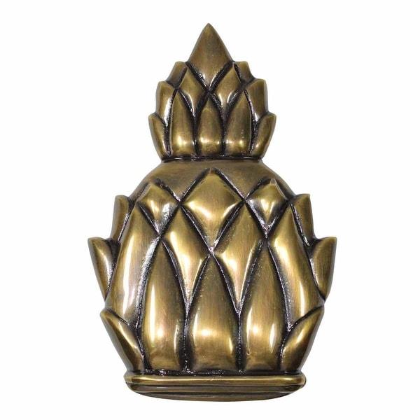 Door Knocker Antique Brass Pineapple 6H | Renovator's Supply
