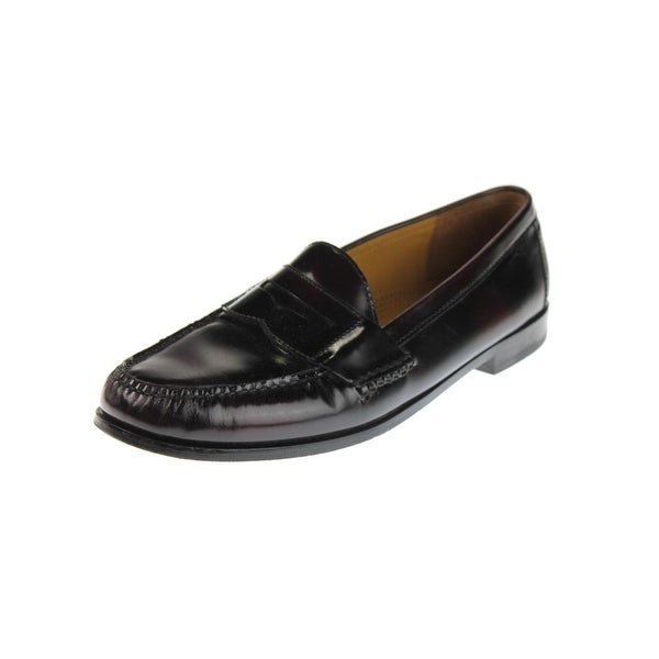 a41de214e2c Shop Cole Haan Mens Pinch Penny Loafers Leather Slip On - 8.5 Medium (D) -  Free Shipping Today - Overstock - 28008518
