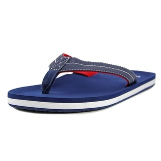 Sanuk Burm Men  Open Toe Synthetic Blue Flip Flop Sandal