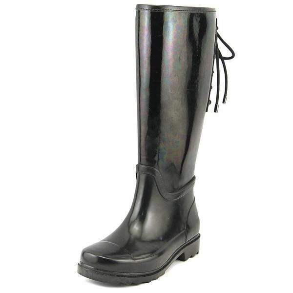 Nine West Oops Women Black Snow Boots