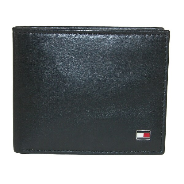 Smooth Leather Zip Around Wallet - Sales Up to -50% Tommy Hilfiger r0IZSVF