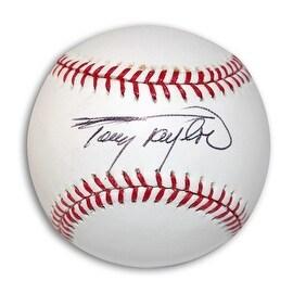 Autographed Tony Taylor Baseball
