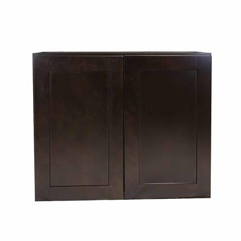 """Design House 569038 Brookings 33"""" Wide x 36"""" High Double Door Kitchen Cabinet"""