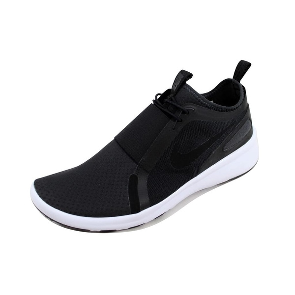 7b32e78e7e2 Shop Nike Men s Current Slip On Black Black-Anthracite 874160-002 ...