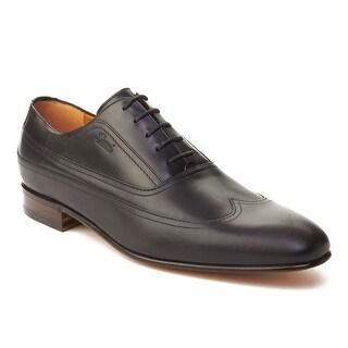 Gucci Men's Leather Oxford Dress Shoes Black