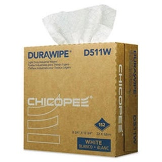 CHI Durawipe Light Duty Industrial Wipers, White - Case of 1824