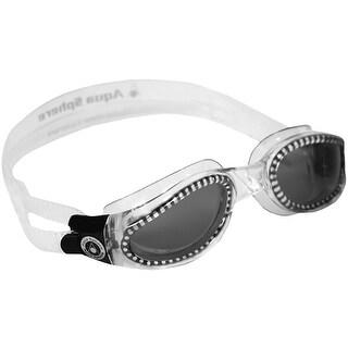 Aqua Sphere Kaiman Smoke Lens Swim Goggles - Clear
