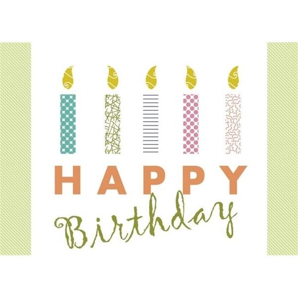 Shop 2013 Striking Birthday Candles
